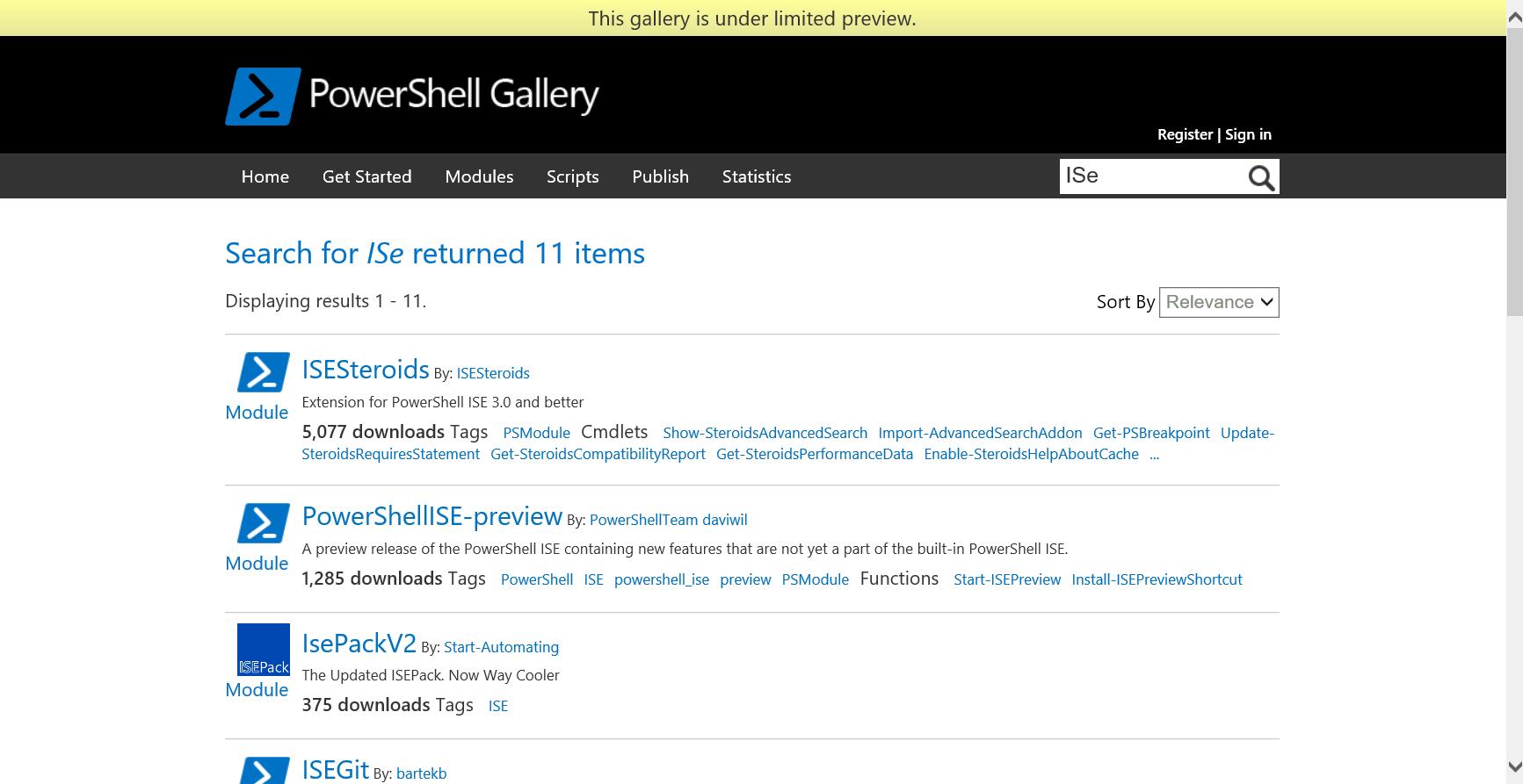 PowerShell Gallery